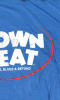 DOWNBEAT t-shirt (lighter blue) XL