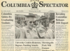 MAX ROACH Doctorate in Columbia Spectator 5/23/2001 Graduation issue