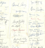 Bundle of 26 checks signed by famous Jazz musicians!