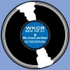 WKCR T Shirt (Light Blue Record on Front) size XL