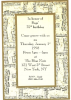 BAGS Milt Jackson 75th birthday invitation