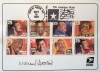 Jazz and Blues first class stamps special cancelation 9/19/1994 SIGNED by William P. Gottlieb
