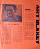 ART BLAKEY and Jazz Messengers at Marseille Opera House large program 3/5/1974