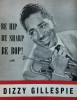DIZZY GILLESPIE Be Hip Be Sharp Be Bop! Rare booklet