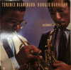 TERENCE BLANCHARD and DONALD HARRISON 12 inch DJ LP George Wein collection GW3008 signed by George Wein