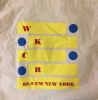 WKCR red, blue and yellow tote bag!