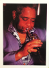 DIZZY GILLESPIE color postcard