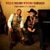 WILLIE NELSON & WYNTON MARSALIS Two Men with the Blues 2008 Blue Note CD SIGNED by Marsalis!