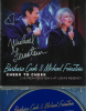 MICHAEL FEINSTEIN autographed CD Cheek to Cheek with Barbara Cook