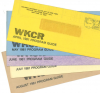 5 very early (1981) WKCR Program Guides