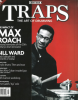 TRAPS a drummer's magazine FIRST ISSUE Max Roach Cover
