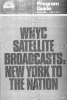 WNYC March 1980 Program Guide with the Dawn of Satellite Broadcasts