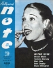 "RARE JAZZ PUBLICATION ""Hollywood Note"" - 1946 issue!"