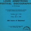 Louis Armstrong Discography (1987, 3rd edition)