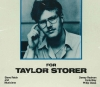 "One of the rarest of all Jazz/New Music LPs ""FOR TAYLOR STORER"""