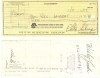 WES LANDERS, Phil Schaap Jazz Session AUTOGRAPHED check