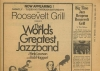 NY Post December 4, 1969: Jazz at The Roosevelt Grill