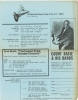 COUNT BASIE exhibit flyer and schedule from NY Jazz Museum, 1974