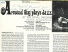 ARMAND HUG PLAYS JAZZ At The Royal Orleans, AUTOGRAPHED White Cliffs LP 1005