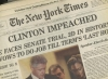"""CLINTON IMPEACHED,"" Sunday NEW YORK TIMES, December 20, 1998"