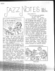 "PHIL STEIN Writings and Memento Bundle: Signed Letter, copies of 1942 ""Jazz Notes,"" WINS Jazz Bulletin, etc..."