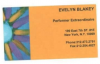 EVELYN BLAKEY Business Card