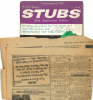 STUBS 26th Anniversary Edition CUE MAGAZINE with NY Times Theatre Listings from Sunday May 18, 1975