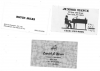 JUNIOR MANCE / BUTCH MILES / DANNY MIXON business cards