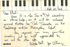 Notes, Cards, and Letters from a range Jazz personages