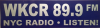 WKCR vinyl sticker
