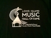 Long Island Music Hall of Fame black t-shirt XXL