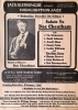 DOC CHEATHAM Highlights in Jazz salute December 8, 1981 flyer