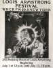 WKCR 1980 Louis Armstrong glossy flyer