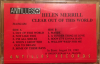 HELEN MERRILL Clear Out of this World promo cassette Antilles 314-512-654