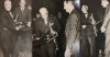 SIDNEY BECHET and CHARLES DELAUNAY three glossy photos 10/19/1955