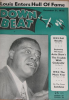 DOWN BEAT magazine December 31, 1952 Louis Armstrong!