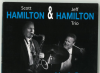 SCOTT HAMILTON & JEFF HAMILTON related by swinging music in their CD LIVE IN BERN